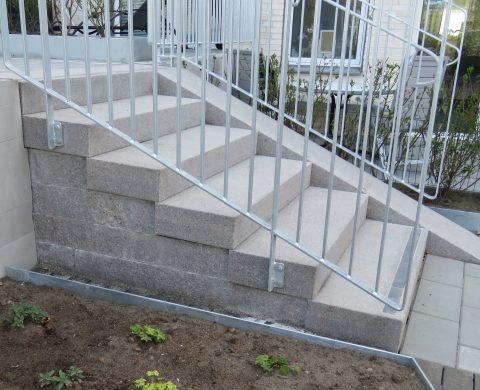 Blockstegstrappa