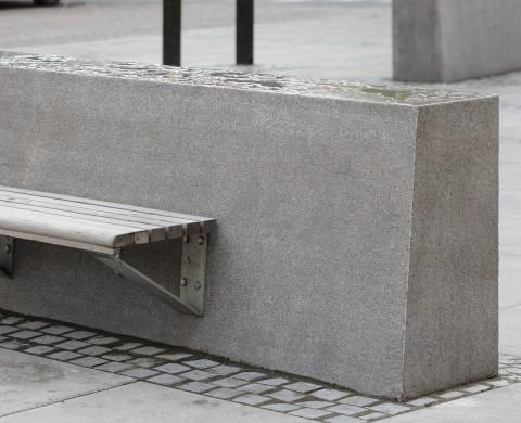 Sittplats på Blockstensmur