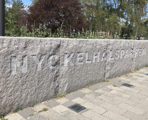 Mur vid Nyckelhålsparken