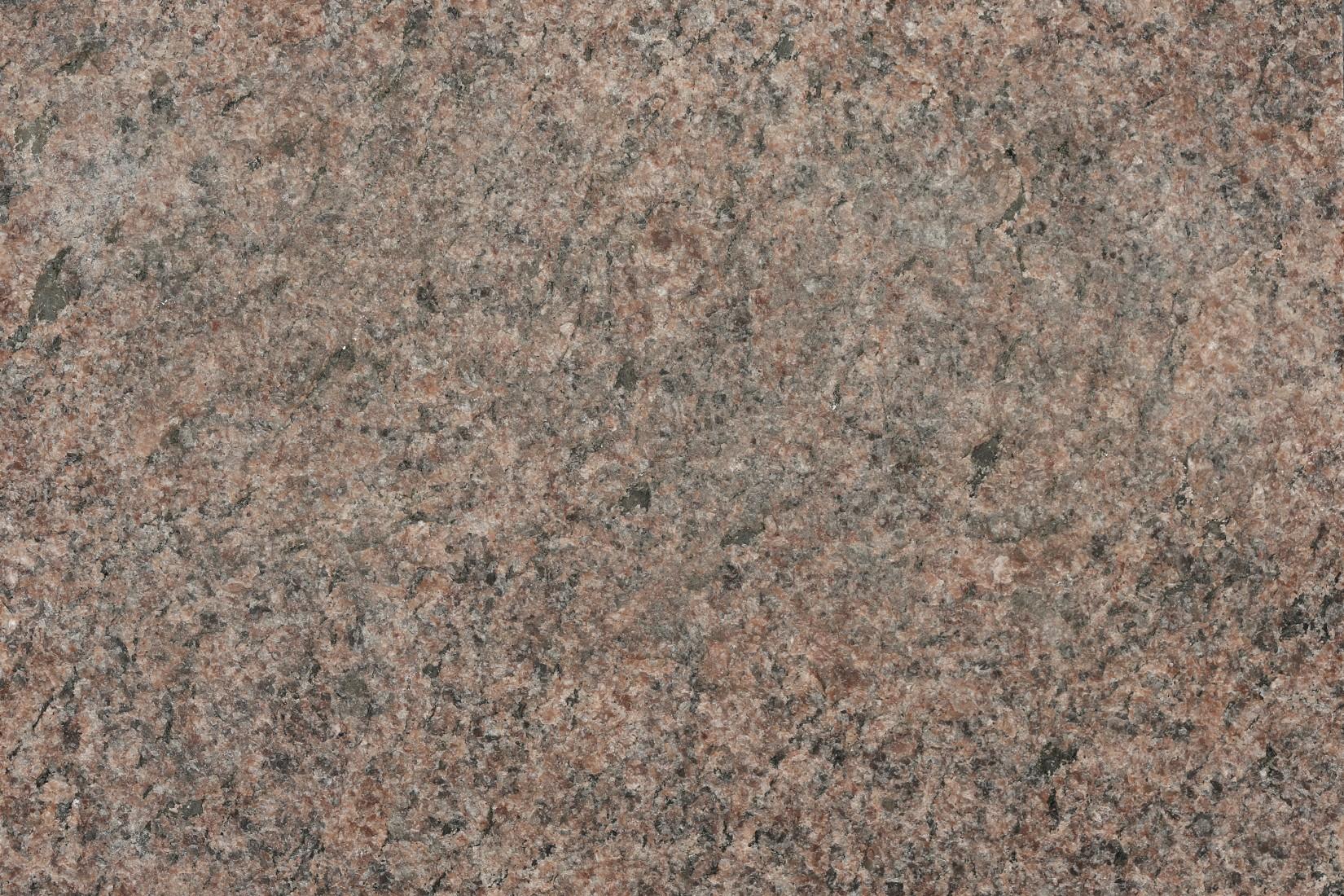 Röd vånga granit