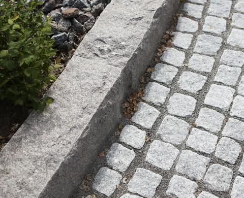 Blockstensmur & Smågatsten
