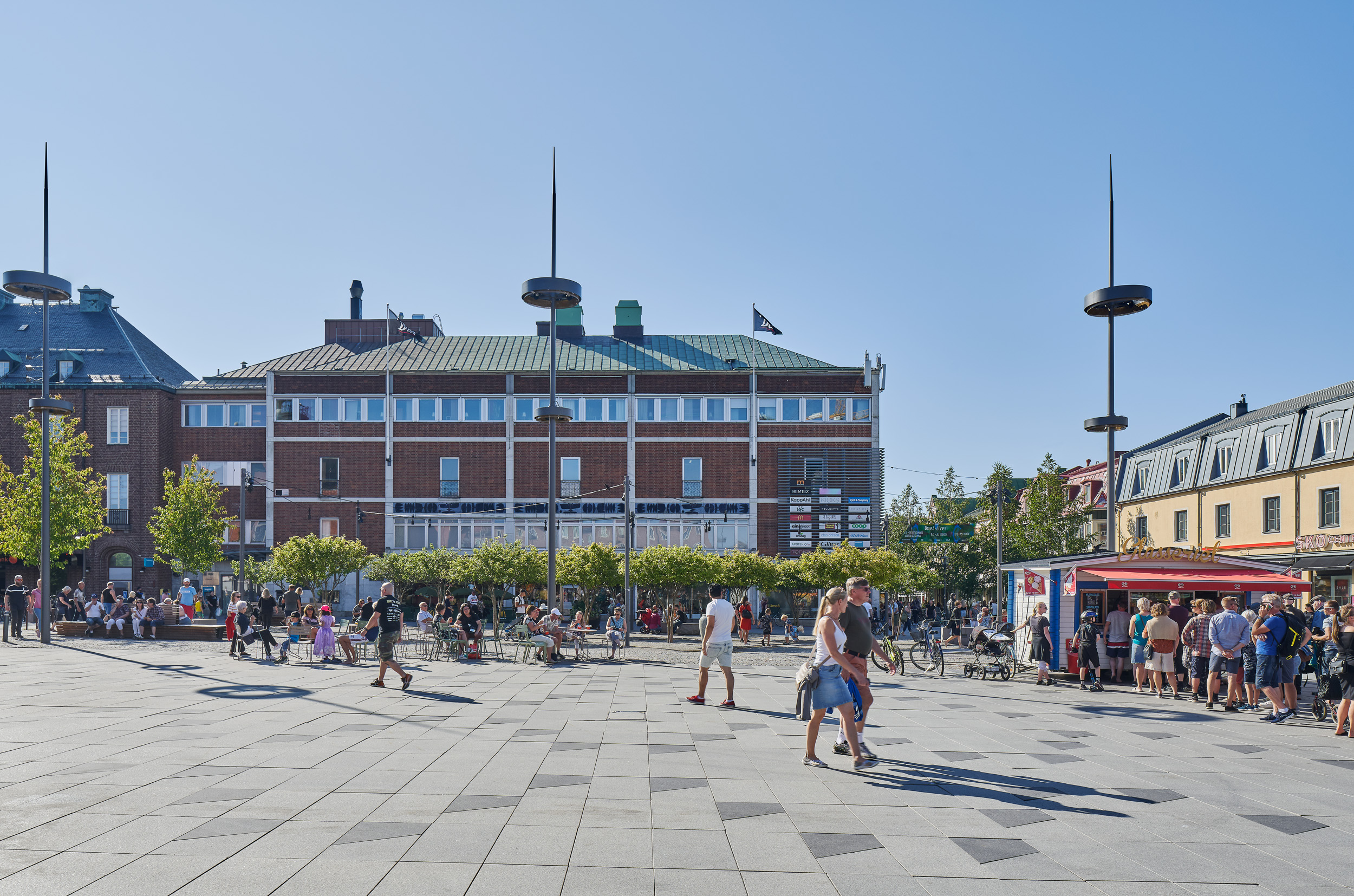 Rådhustorget Umeå