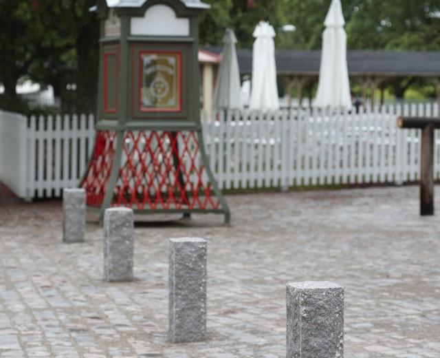 Rektangulär stolpe
