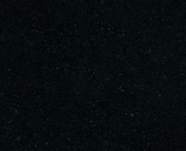 Svart Granit, Polerad